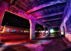2/20/56 (johnsinclair8888) Tags: johndavis nikon lightpainting sigma wideangle hdr affinityphoto night amargosa primarycolors sliderssunday