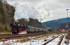 01 150 - Brilon Wald - 18/02/2017 (spottermarc) Tags: 01 150 eisenbahnstiftung joachim schmidt db museum 1502 rheingold canon eos 5d mark ii deutsche bahn ag drb br eisenbahn heritage railway steam dampflok brilon wald brilonwald dampflokomotive lok loc bundesbahn reichsbahn dr class fabriknummer 22698 lokomotivfabrik henschel reichsbahndampflok passenger passagier train trainspotting engine spotter trainspotter rail baureihe bahnbetriebswerk