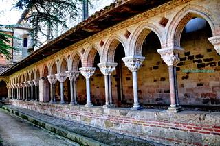 509 - Claustro - Abadía Saint Pierre - Moissac (France).