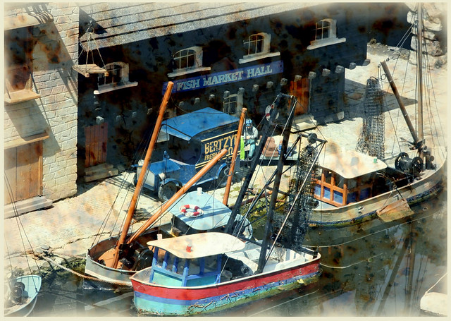 Southpool fishing village