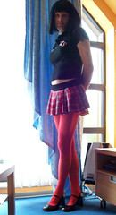 267 (daniela26j) Tags: tights lingerie lolita schoolgirl pantyhose kinky nylons shemale strumpfhosen