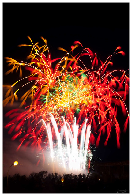Canada Day 2009 - Edmonton Fireworks