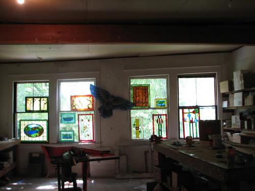 Kip Treinens' studio