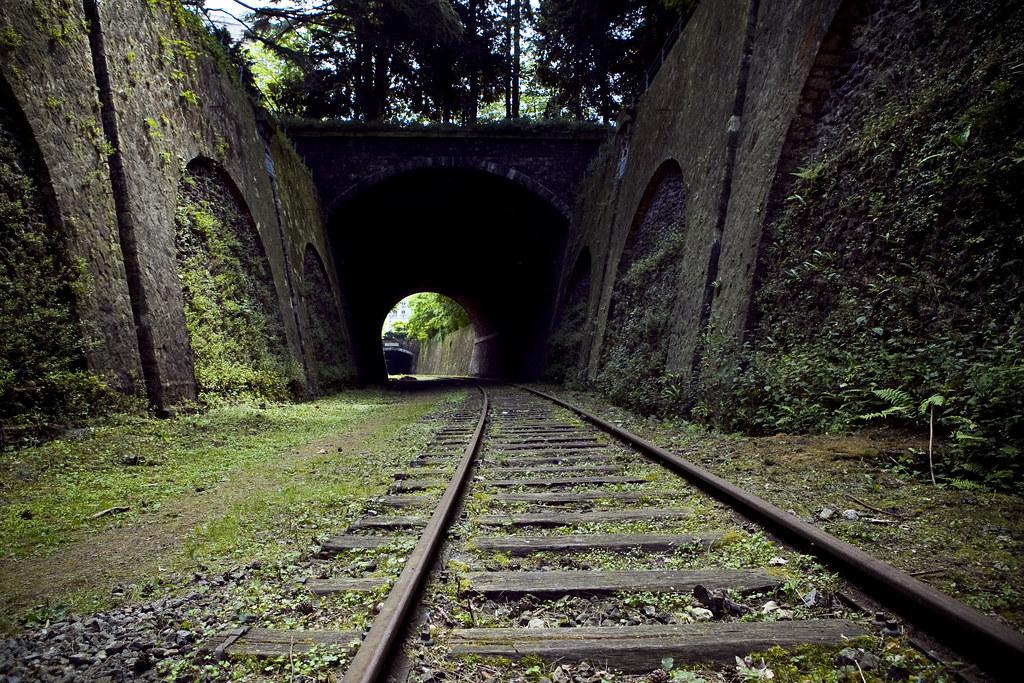 En dessous du Parc Montsouris