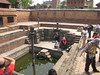 Pool area in Palace in Bhaktapur