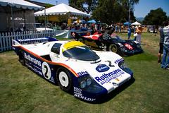 Porsche 956 (erdero) Tags: blue 2 white green porsche stanford paloalto concours palo alto 2009 concourse 962 956 delegance rothmans