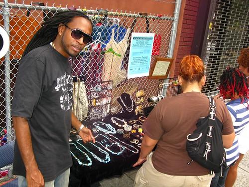 FranklinAv/Sterling Pl Flea Market 7/11-14