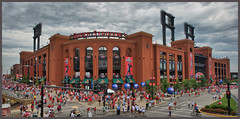 Busch Stadium All Star Game 7-14-09 (Bettina Woolbright) Tags: cards stlouis saintlouis buschstadium busch cardinals bettina allstargame redbirds woolbright bettinawoolbright saintlouiscardinalsredurbanhdr