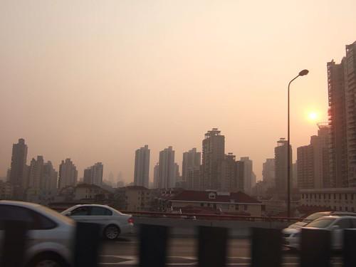 上海高速公路ㄧ景