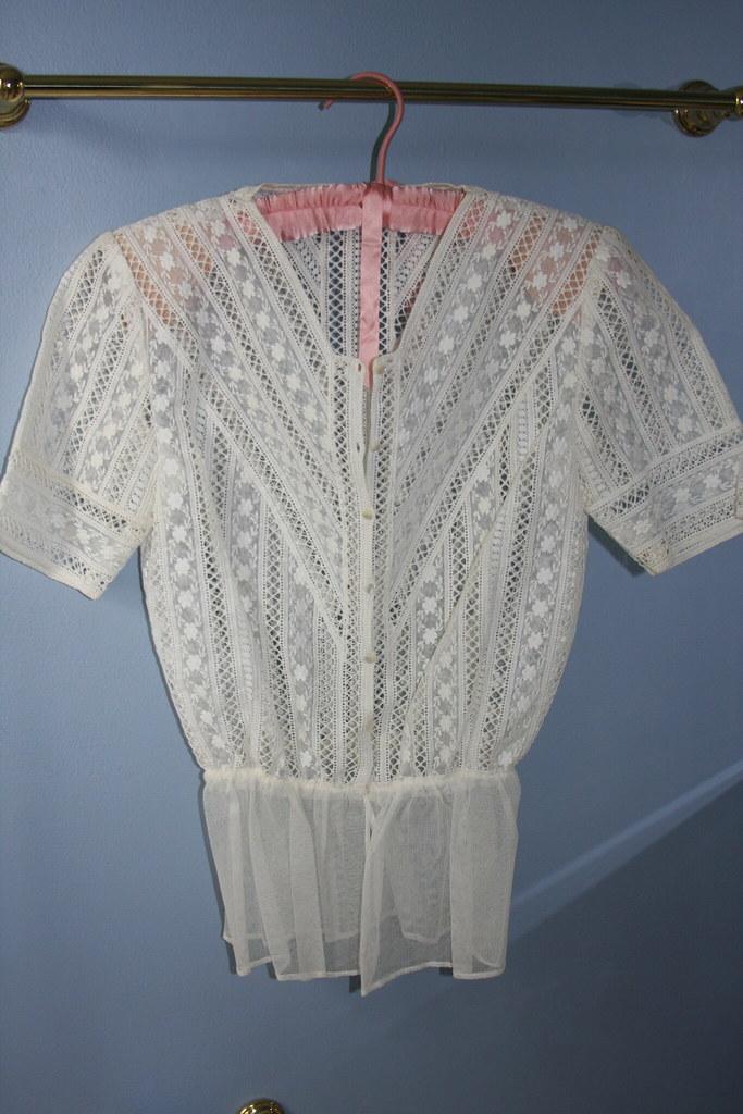 Lace Insert blouse