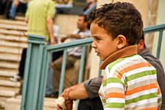 Serious (hapal) Tags: boy portrait face hair kid child iran serious scowl iranian  gaze          canoneos40d  hamidnajafi