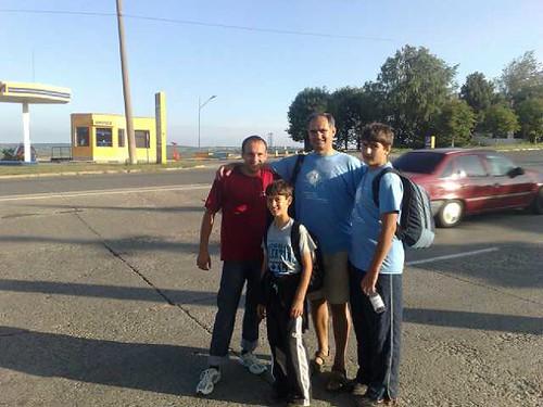 Intalnirea cu Ionel Rotaru in drum spre Lapusna