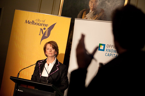 Julia Gillard / Event for Melbourne City Council