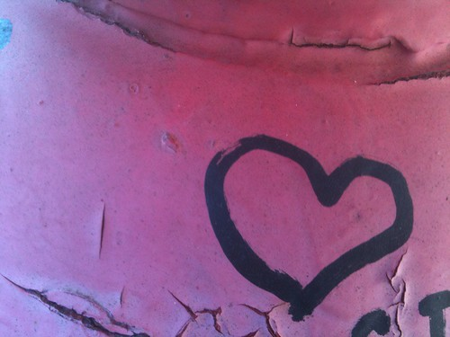 Bowery dingbat: love can be found on this street icon