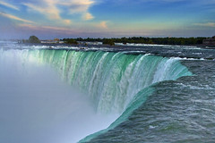 Niagara Falls Through My Eyes (AHMED...) Tags: pakistan sky ontario canada water dusk niagara falls ahmed sind sindh muhammad mehrabpur