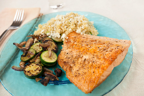 Grilled Middle Eastern Salmon