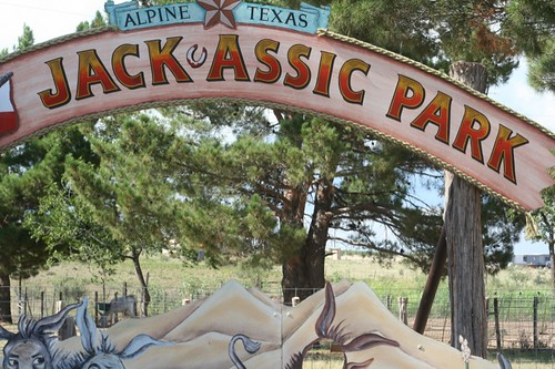 jack-assic park sign