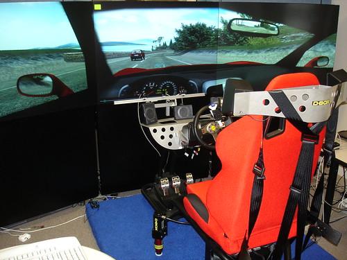 MERL driving simulator