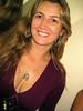 Irene (Indy Camargo) Tags: brown paraná smile smiling necklace purple teeth longhair blonde pr sorriso earrings colar brincos loira roxo santafé dentes kleo sorrindo cabeloslongos irenelicce