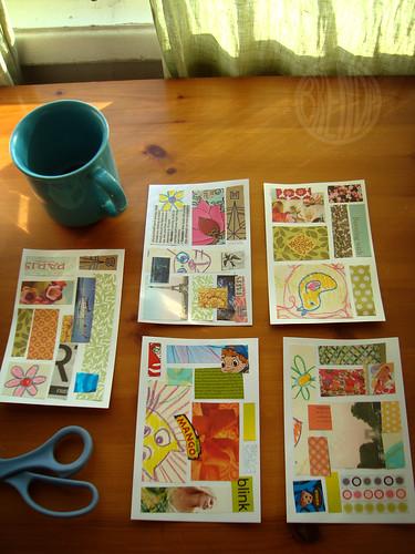 collage postcards batch 2