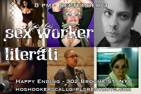 Sex Worker Literati - September 3