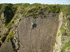 Climbing in Pembrokeshire
