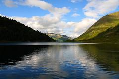 Panorama #6 (Roby Ferrari) Tags: panorama lake clouds lago nuvole riflessi altoadige riflesso passo sattel staller stalle