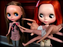 """""""Do we need to talk?"""" (Dymphna ) Tags: cloud doll nine lola bowl willow blythe prima licca winsome munro c9b pdww"""
