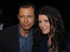 Elizabeth with Jeff Goldblum at the Oceana Summer Party (Ms LUX) Tags: charity oceana philanthropy jeffgoldblum ladylux elizabethwahler