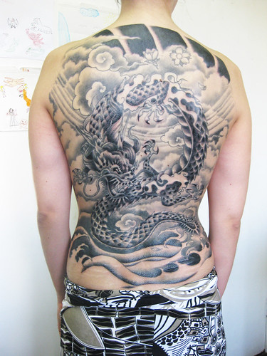 ingride (eduardo berbel) Tags: tattoo dragon oriental irezumi drago