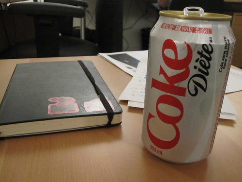 Diet Coke from the vending machine - $1.25
