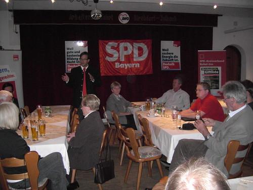 2009-09-06 | SPD-Landesvorsitzender Florian Pronold in Kirchdorf am Inn: Anpacken für unser Land!