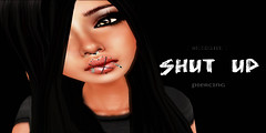[ skream! ] _shut up_ piercing