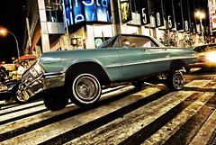 Crusin Lowrider Style (RLJ Photography NYC) Tags: blue up car cool bravo traffic style hero winner rims ridin crusin anawesomeshot colorphotoaward thepinnaclehof lowridernyc tphofweek11 thepinnacleblog