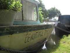 Beautiful tomorrow boat