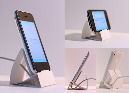 Downloadable Paper iPhone Dock
