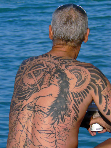 Old Man Young Tattoo. It is a mystery to me why people put a major work of
