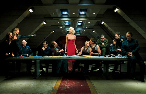 Battlestar galactica - last supper
