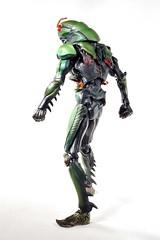 SIC第17.1弹 - 仮面ライダーブラック (グリーンカラーver)(8)