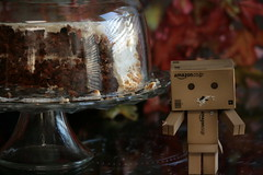 1. Danbo loves CAKE. (The Dolly Mama) Tags: toy robot amazon danbo revoltech danboard