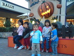 Evening at Toki premium outlet
