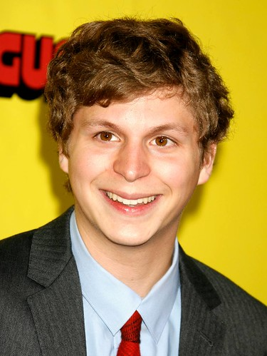 Actor Michael Cera attends the premiere of Superbad at Grauman's