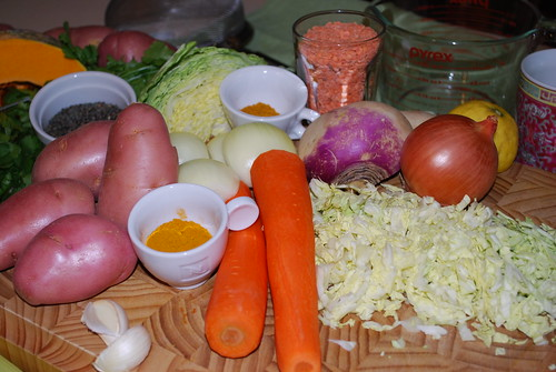 The makings of a hearty stew