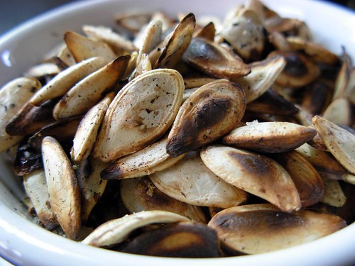 Toasted Garlic Pumpkin Seeds