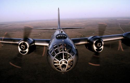 """Warbird picture - Boeing B-29 """"Superfortress"""", Midland, TX"""