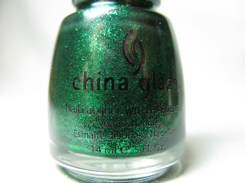China Glaze Emerald Sparkle Nail Polish