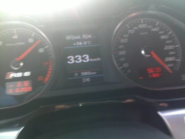 speed top audi rs6