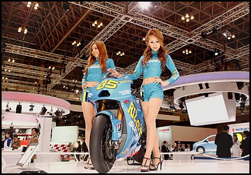 suzuki racing bike babes