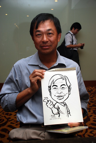Caricature live sketching for Rheen Manufacturing Company (Singapore) Pte Ltd  - 1