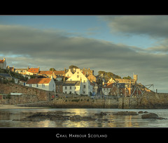 Crail Harbour (Kit Downey) Tags: sunset water scotland eveningsun harbour fife fishingvillage crail eastneuk crailharbour anawesomeshot kitdowney